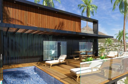 casa 3d container marítimo nagawa